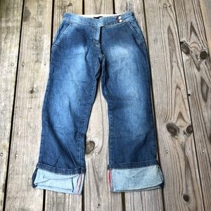 The LIMITED stretch jeans Capri size 4
